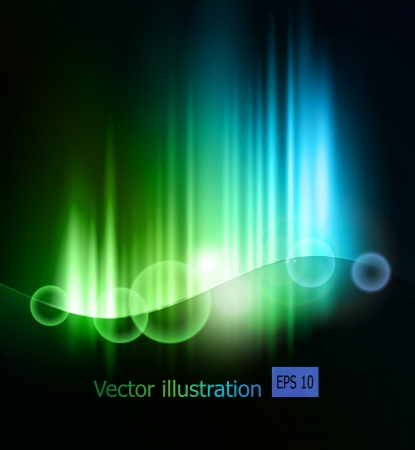 glow in the dark: Abstract light  background