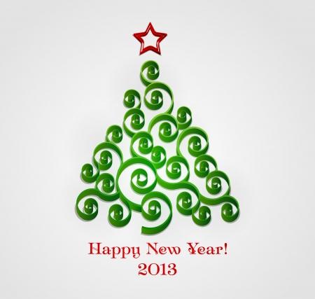 Christmas tree Stock Vector - 18607852