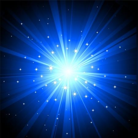 Magic light background Stock Vector - 18607411
