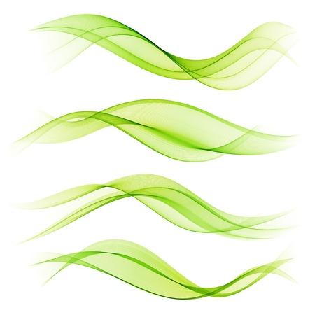 녹색 물결의 설정