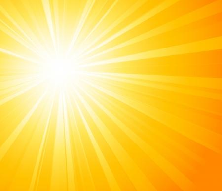 sol: El amanecer de fondo