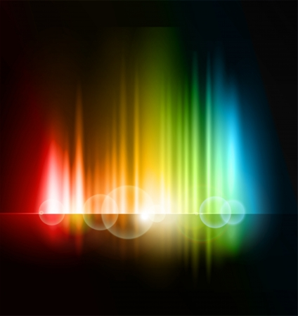 Abstract light  background Stock Vector - 19485180
