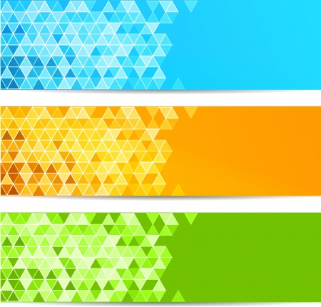 Abstract banner Illustration