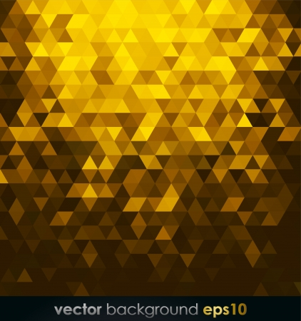 Abstract gold background Stock Vector - 19969604