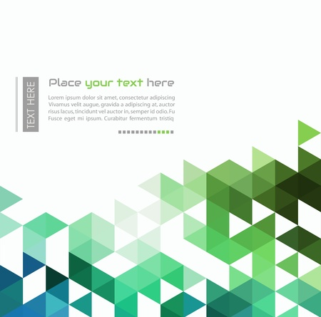 triangle: Abstract background Illustration