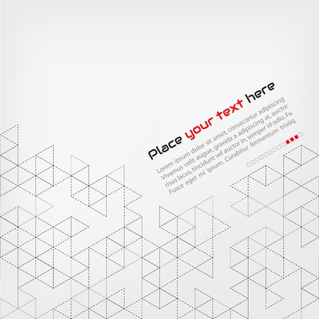 name graphics: Abstract background Illustration