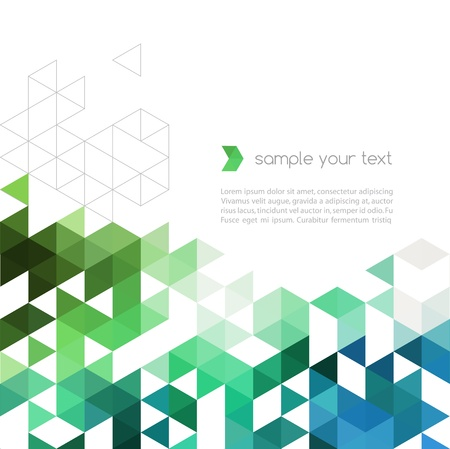 triangle pattern: Abstract background Illustration