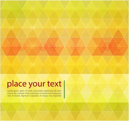 Retro pattern of geometric shapes Stock Photo - 20963035