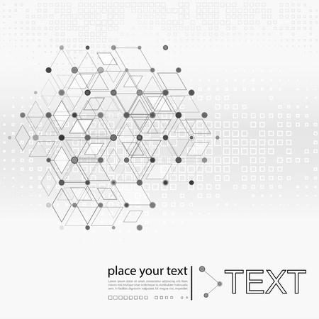 Molecule And Communication Background Stock Photo - 20963042