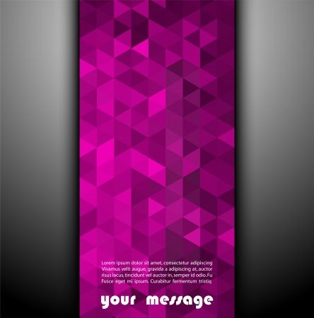 Abstract template background with triangle shapes Stock Photo - 20963021