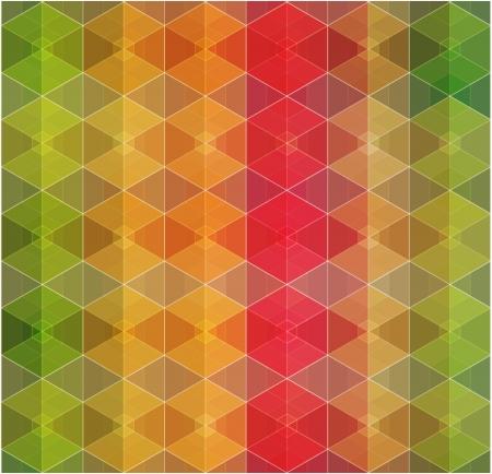 Retro pattern of geometric shapes Stock Vector - 20963025