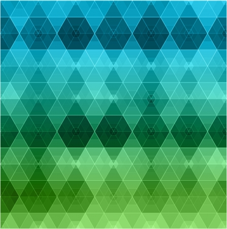 Retro pattern of geometric shapes  Colorful mosaic banner Stock Vector - 20963006
