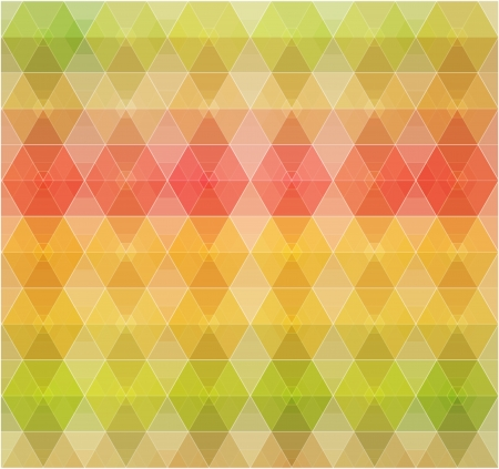 Retro pattern of geometric shapes  Colorful mosaic banner Stock Vector - 21222365