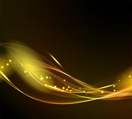 lineas onduladas: La luz de fondo abstracto