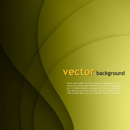 smooth shadow: Green smooth twist light lines vector background.
