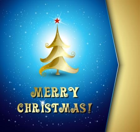 Vector illustration Christmas tree background. Stock Vector - 21873225