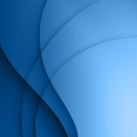 swirl background: Blue  smooth twist light lines vector background