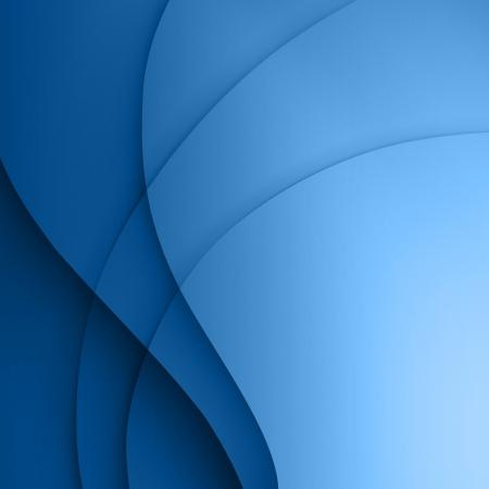 background swirl: Blue  smooth twist light lines vector background