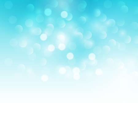 celebration eve: Blue holiday light background  Vector illustration  Illustration