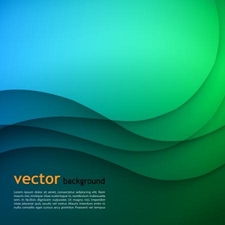 vision futuro: Color de fondo de negocios elegante. Ilustración vectorial Vectores