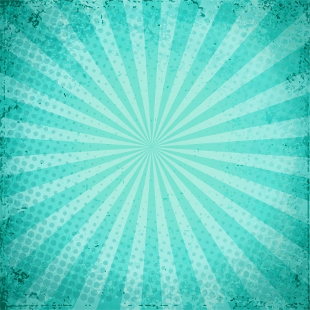 Designed grunge turquoise paper texture, background EPS 10 Vector