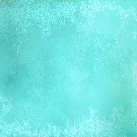 Designed grunge turquoise paper texture Illustration