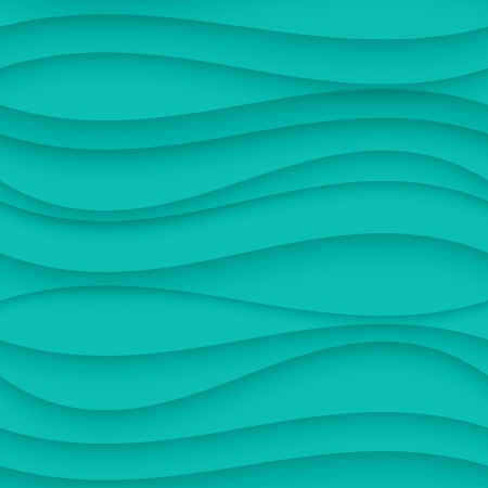 turquoise wallpaper: Vector Blue seamless Wavy background texture.