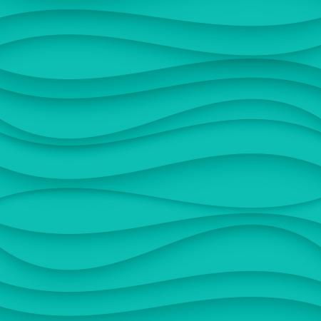 tiffany blue: Vector Blue seamless Wavy background texture.