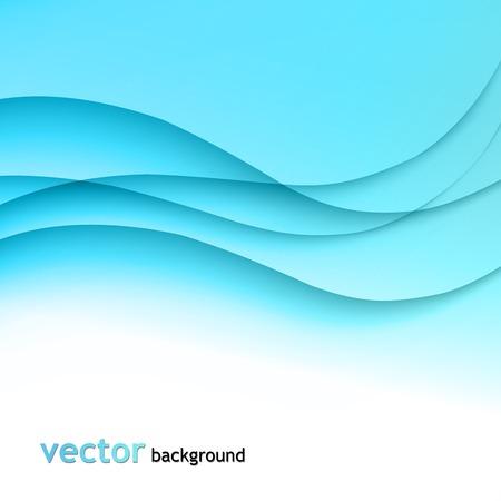 fumo blu: Astratto sfondo colorato con blu onda fumo