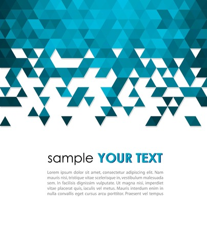 Abstract technology background  with triangle  Vector illustration  Vector