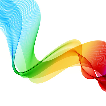 Abstract colorful background  Spectrum wave  Vector illustration