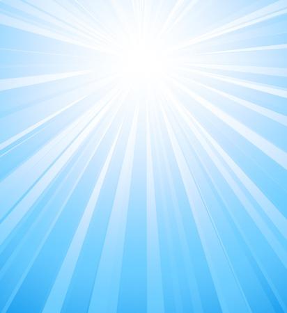 light burst: Vektor-Illustration Sommersonne Licht Burst