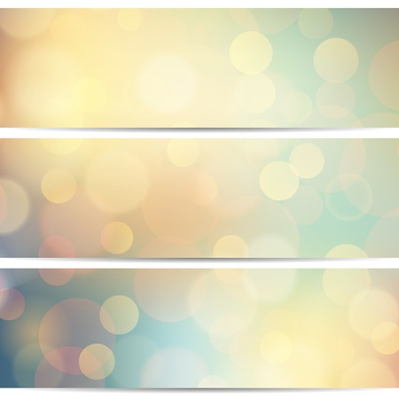 Vector illustration of soft colored abstract background Vector