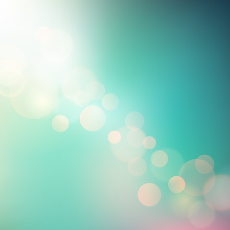 sunny beach: Vector Soft colored abstract summer light  background for design