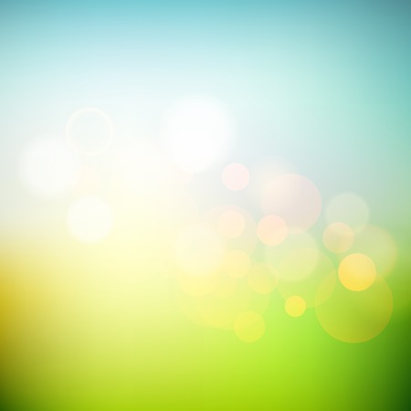 calm background: Vector Soft colored abstract summer light  background for design