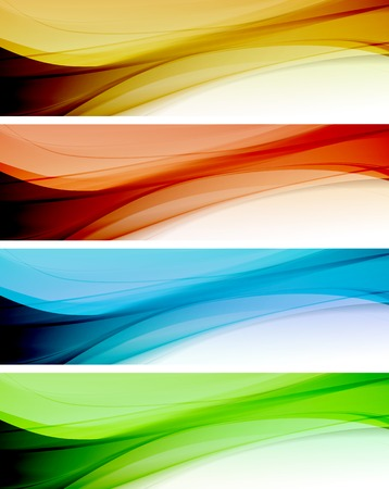Abstract colorful template vector background. Brochure design Vector