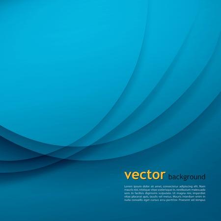 headliner: Blue elegant business background   EPS 10 Vector illustration Illustration