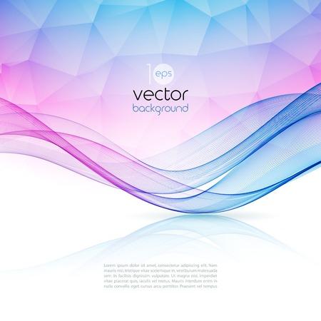 Özet renkli şablon vektör arka plan. Broşür tasarımı Çizim