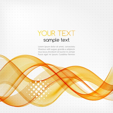 energy abstract: Vector illustration Abstract colorful transparent wave.  Illustration