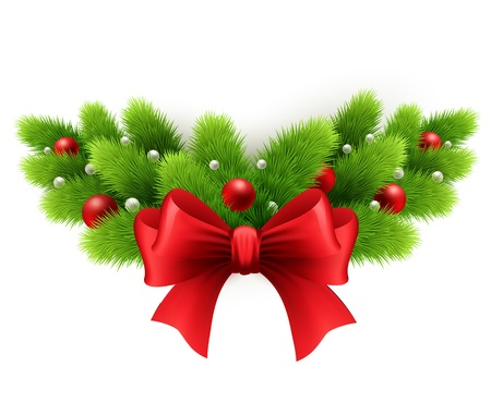 christmas decoration: Merry Christmas Design. Vector illustration. EPS 10