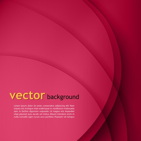 smooth shadow: Purple smooth twist light lines vector background. Illustration