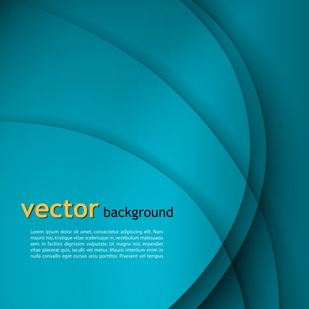 business: Abstract colorful vector wave background .
