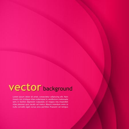 pink swirl: Abstract colorful vector wave background . Illustration