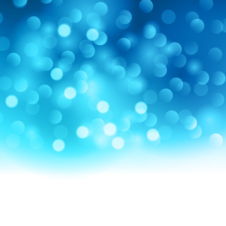 events: Merry Christmas blue  light background.  Vector illustration. EPS 10