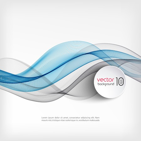 brochure cover: Vector Abstract wave template  background brochure design