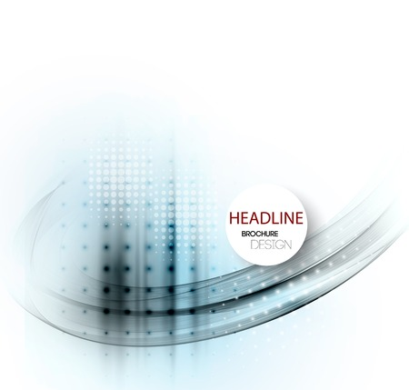 web design elements: Vector abstract business background. Template brochure design