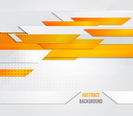 orange industry: Vector abstract business background. Template brochure design