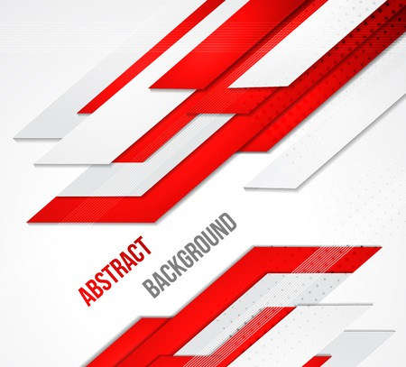 red line: Vector abstract business background. Template brochure design