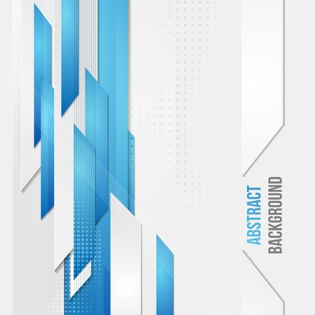 blue color: Vector abstract business background. Template brochure design