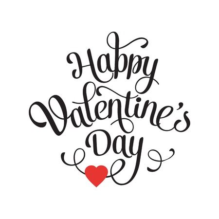Scheda d'epoca felice di San Valentino con la letteratura Archivio Fotografico - 36348773
